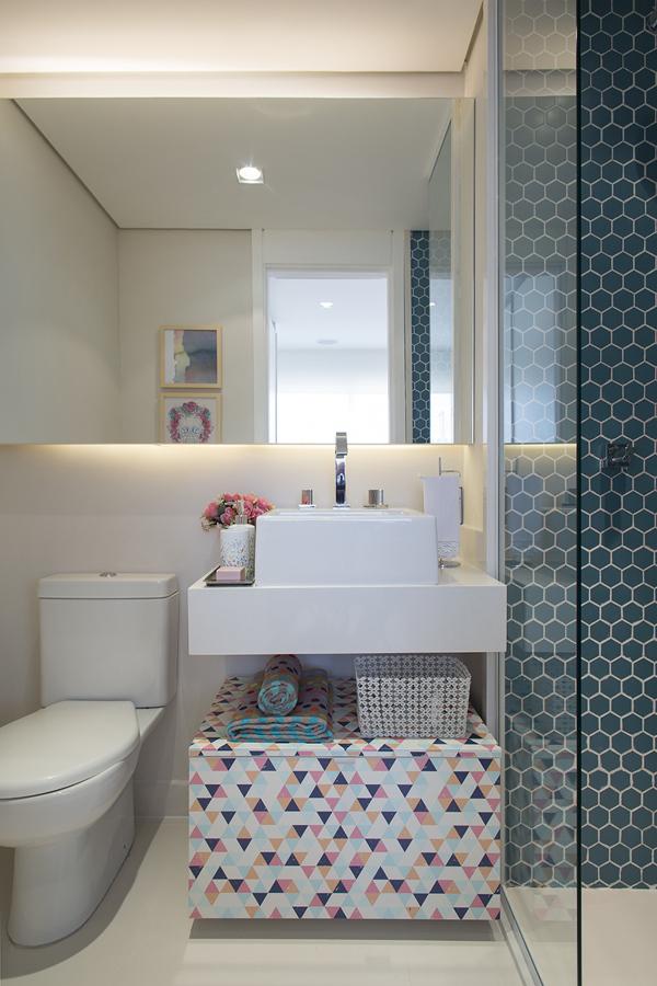 Mostrar Fotos De Banheiros Pequenos : Ideias para ganhar espa?o no banheiro pequeno jeito de