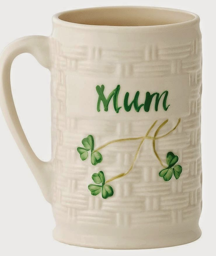 Belleek Personalized St. Patrick's Day Mug