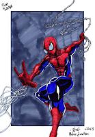 Fanart de Spider-Man pour mon neveu qui est fan
