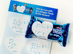 FREE Braille Stickers Love Notes for Rise Krispies