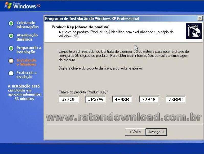 WIL DOWNLOADS: SERIAL WINDOWS XP
