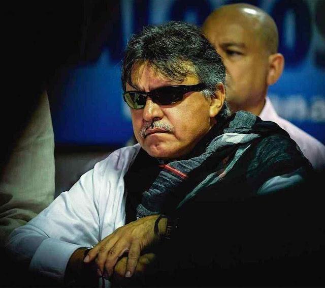 Jesús Santrich, dirigente da paz preso negociando dez toneladas de cocaína para os EUA.