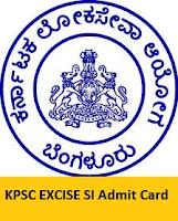 KPSC Admit Card