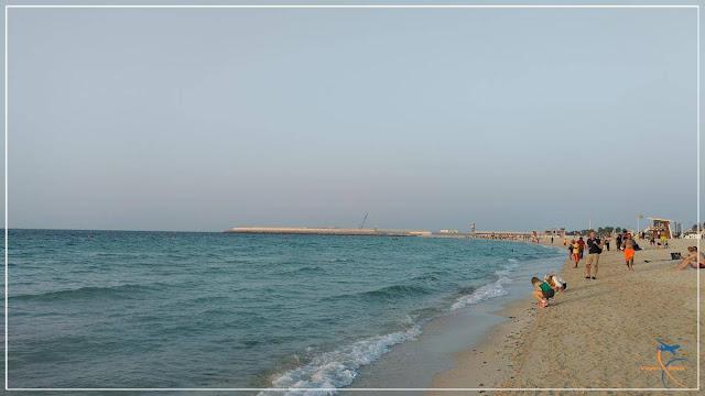 Jumeirah Beach em Dubai