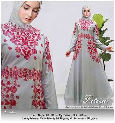 Gamis Cantik Dan Unik Fataya Dress Bahan Linen Rami Faniz Store