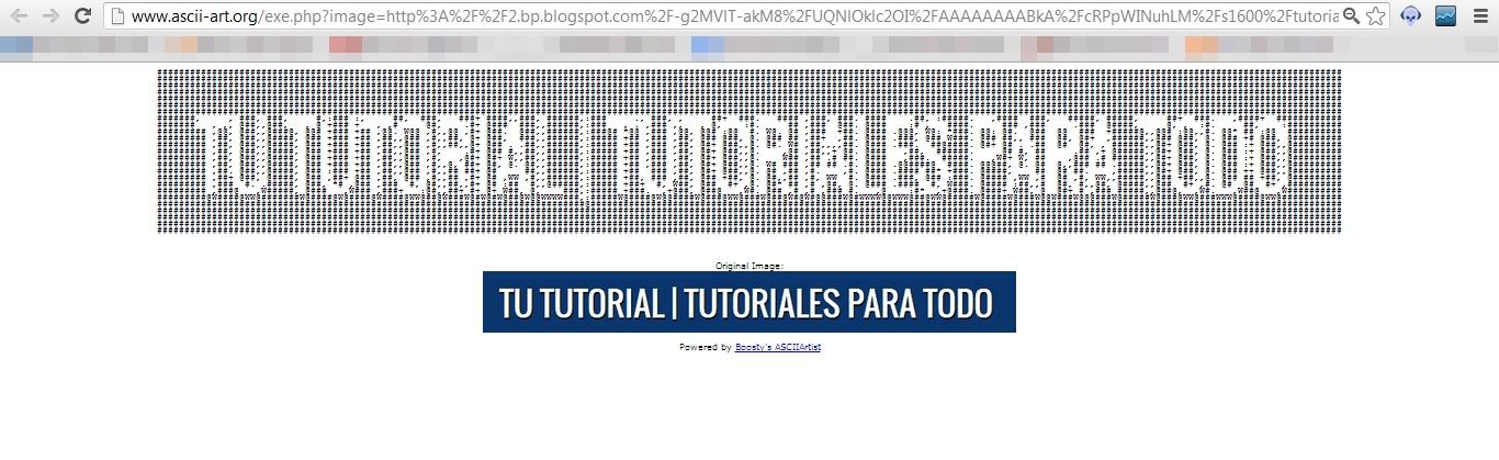 Tutorial: Como hacer dibujos en código ASCII | Un tutorial mas de Tu