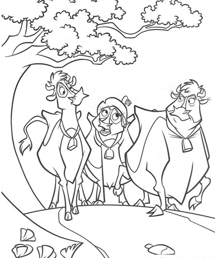 Home on the Range Coloring Pages Colouring for Kids