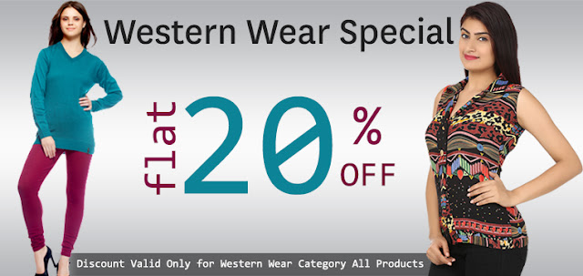 Buy Online Western Wear Girls Leggings in Flat 20% Discount Offer Sale