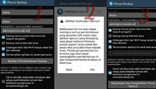 Cara Menggunakan Smartphonelogs