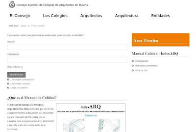 Manual de calidad del proyecto arquitectónico