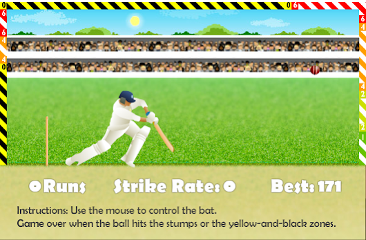 Cricket Defend The Wicket [Online Game]