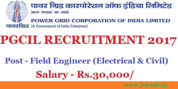 powergrid career , civil engineering jobs, jobs in power plant