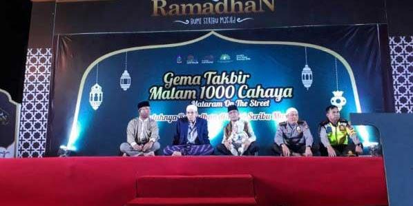 Takbir Keliling Mataram Street Pecahkan Rekor MURI