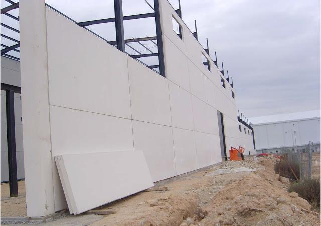 Fachadas prefabricadas placas macizas hormig n placas for Prefabricados de hormigon precios