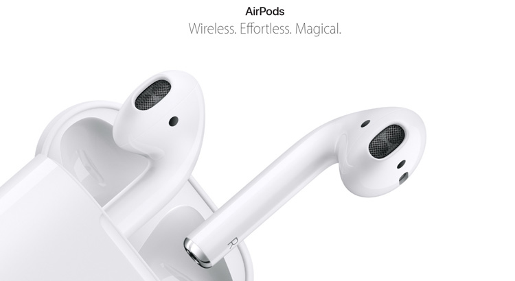 apple airpods apple launch event 2016 september