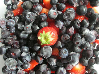 red white and blueberry freeze recipe