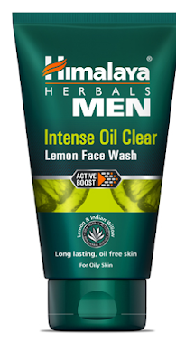 Himalaya Men Intense Oil Clear Lemon Face wash