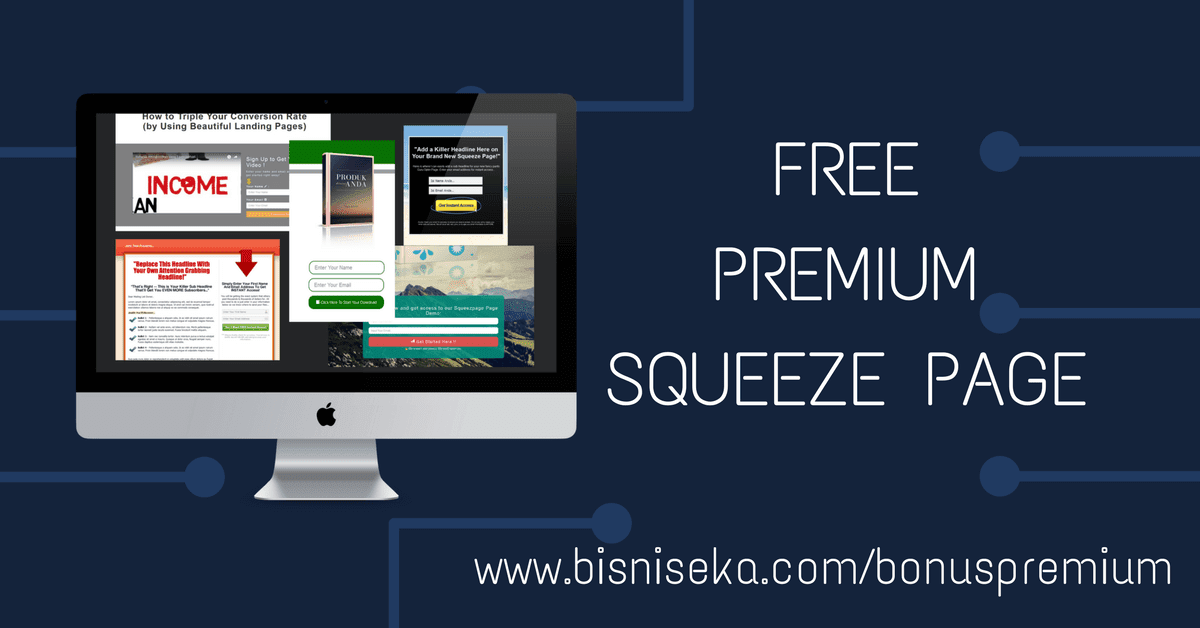 Download Gratis 5 Premium Squeeze page
