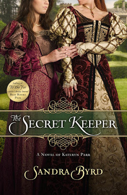 HFVBT Review: The Secret Keeper: A Novel of Kateryn Parr by Sandra Byrd