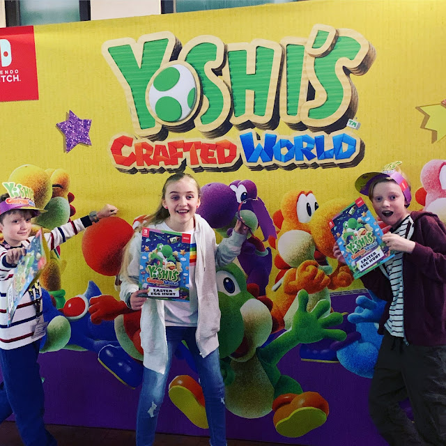 Yoshi's Crafted World Easter Egg hunt at Kidzania London
