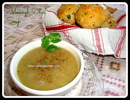 image of Whole Green Moongh dhal Soup /Moong Dhal Soup Recipe / Moong Dal Shorba Recipe / Mung Dal Soup Recipe