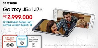 Harga dan Spesifikasi Galaxy J5 2016 dan J7 2016