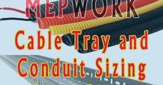Cable Tray And Conduit Sizing Excel Sheet Free Download