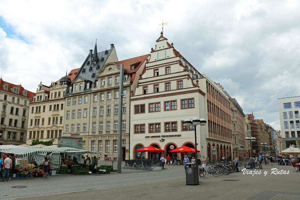 Markplatz, Leipzig