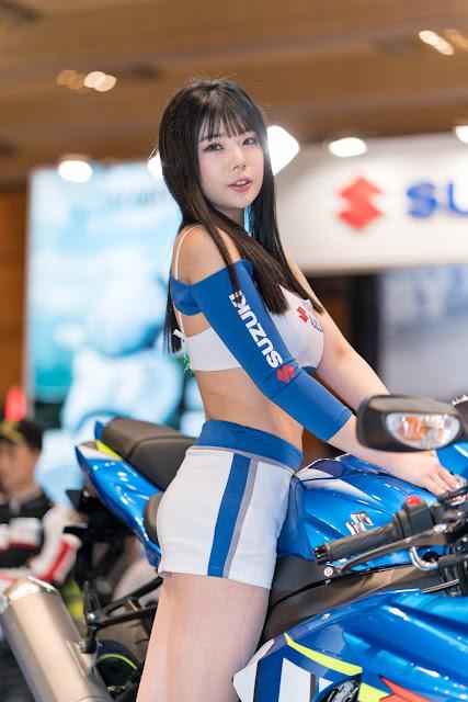 2 Chae Binnie Seoul Motor Cycle Show - very cute asian girl-girlcute4u.blogspot.com