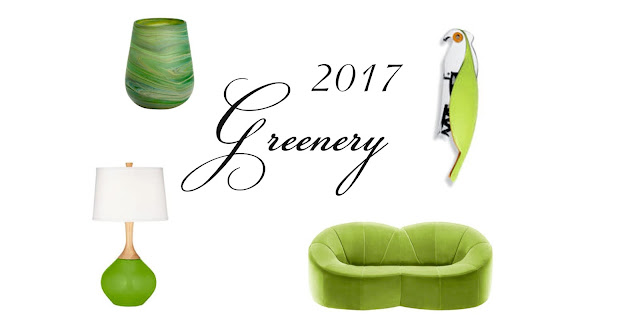 Главный цвет 2017 года по версии Pantone - зелень (Greenery)