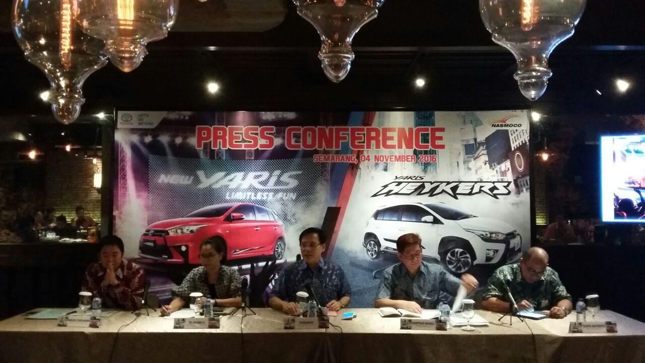 Toyota Nasmoco Bantul Hadirkan New Yaris Heykers