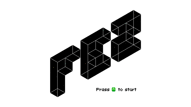 Fez pc game title screen