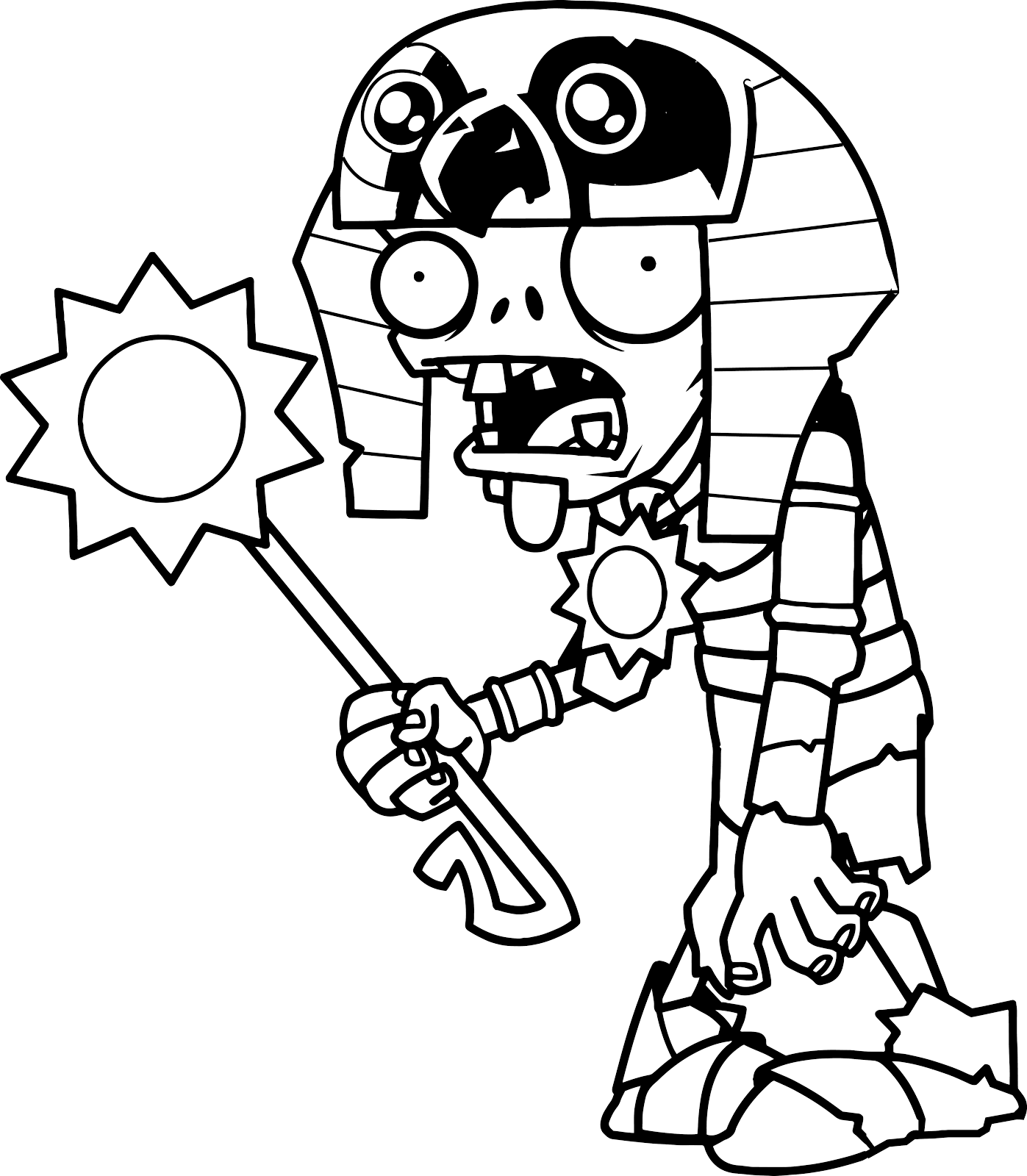 plants vs zombies coloring pages | Páginas para colorear originales Original coloring pages ...