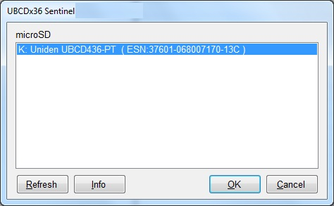 Ozscan - Uniden Scanner Instructions: Sentinel Software for
