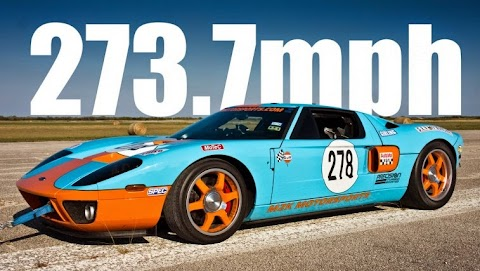Video: Ford GT goes 273 MPH at the Texas Mile