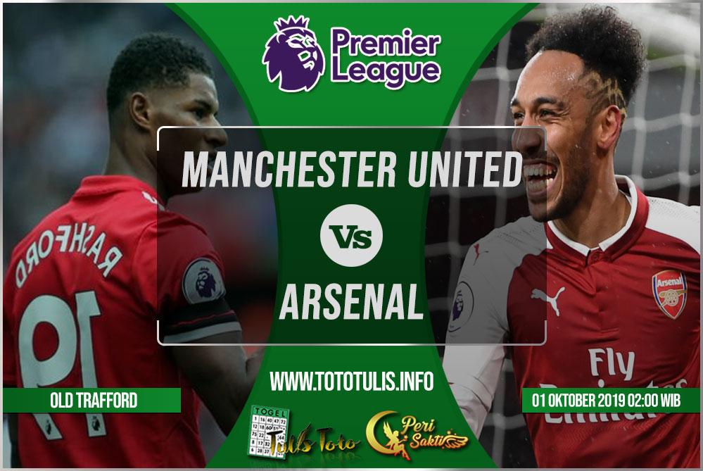 Prediksi Manchester United vs Arsenal 01 Oktober 2019