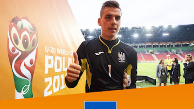 Lunin: Mejor Portero del Mundial Sub-20
