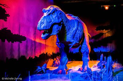 Dinossauro articulado no Museu de história Natural em Londres