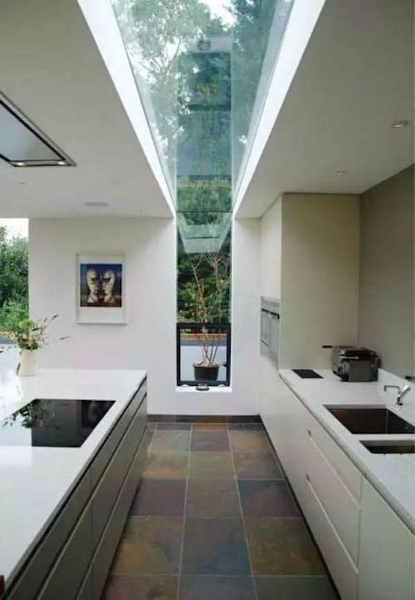90 Foto Desain Dapur Atap Kaca Yang Bisa Anda Tiru