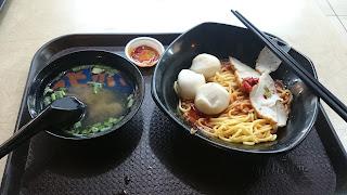 Fish Ball Noodle Seng Huat North Bridge Singapore
