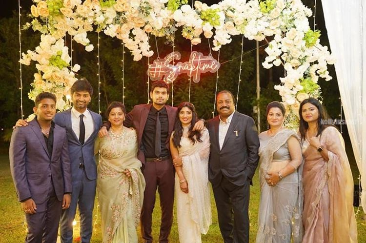 Sneha Britto Akash Murali wedding pictures