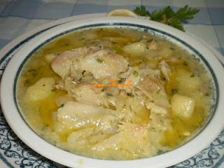 Festive smoked cod