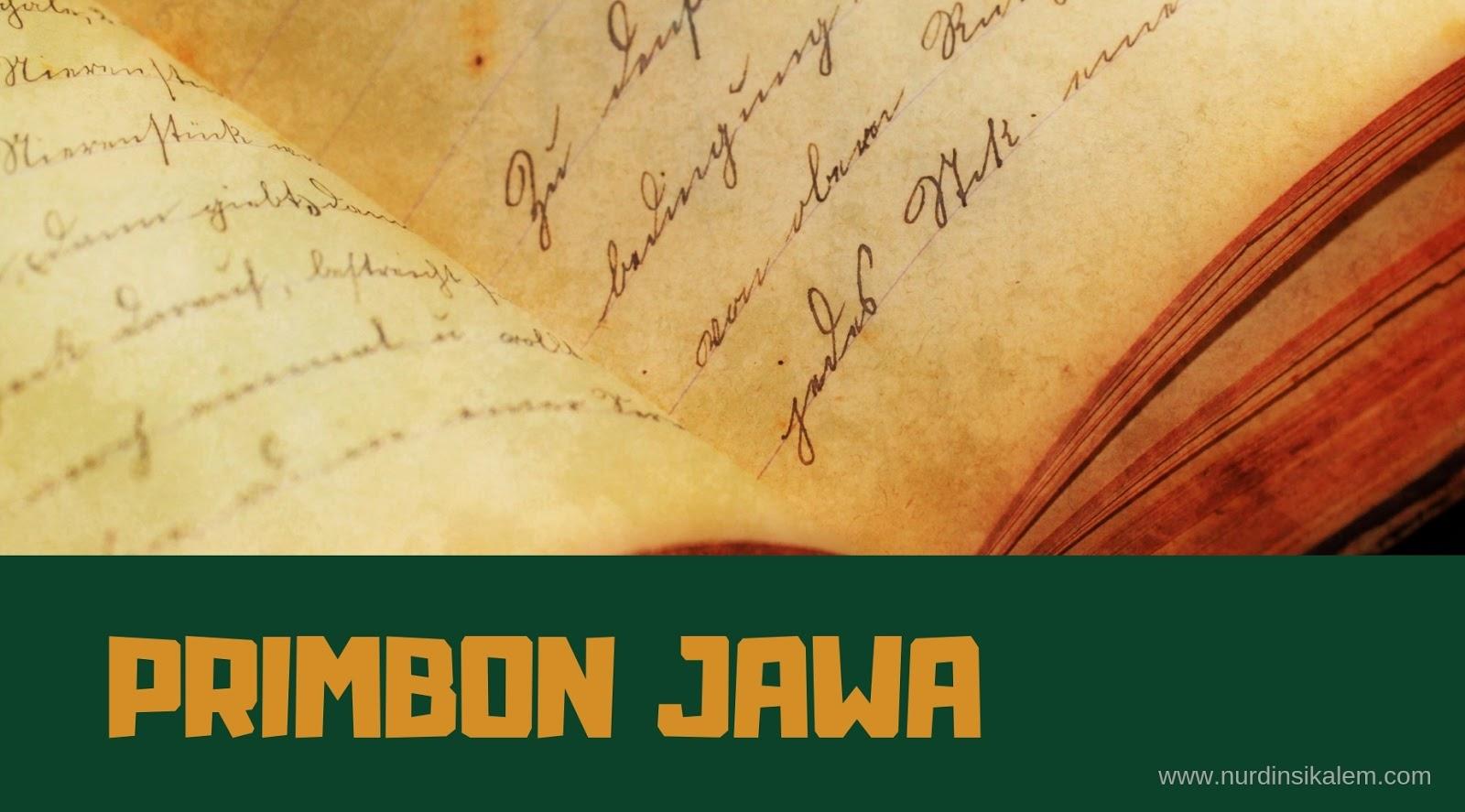 Buku Primbon Jawa