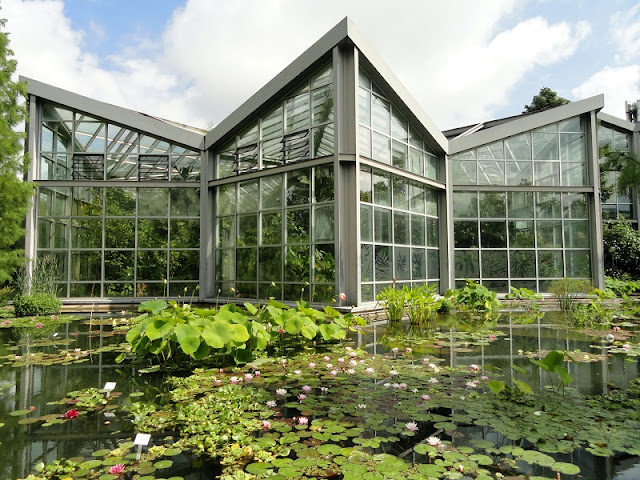 Tropicarium no Palmengarten em Frankfurt
