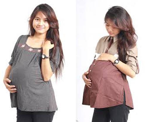 model baju hamil terbaru