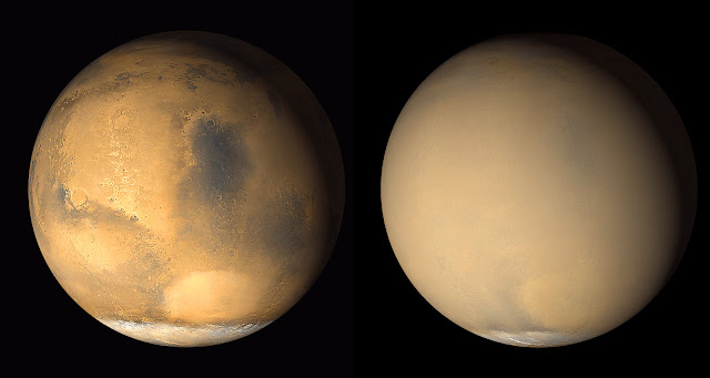 Great Dust Storms on Mars