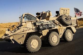 Ranpur Pandur Pasukan Khusus AS di Suriah