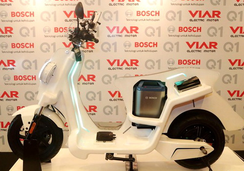 Tinuku Viar Q1 electric motorcycle officially sold