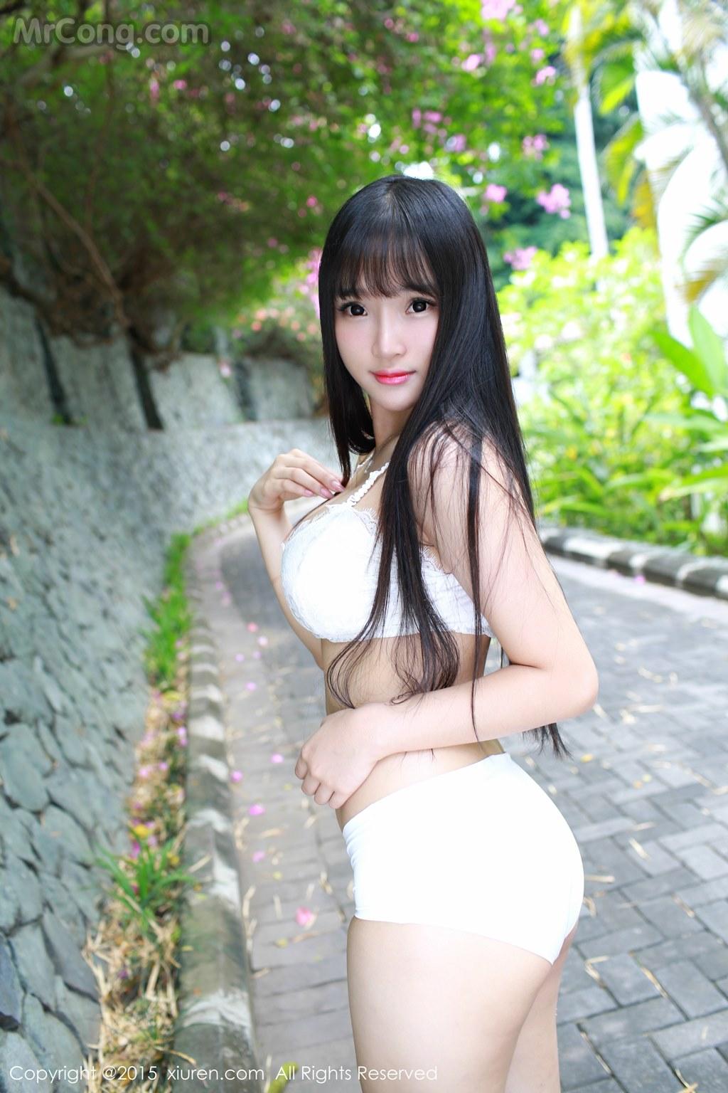 MrCong.com XIUREN No.409 Xia Yao baby 012 - XIUREN No.409: Model Xia Yao baby (夏 瑶 baby) (56 photos)