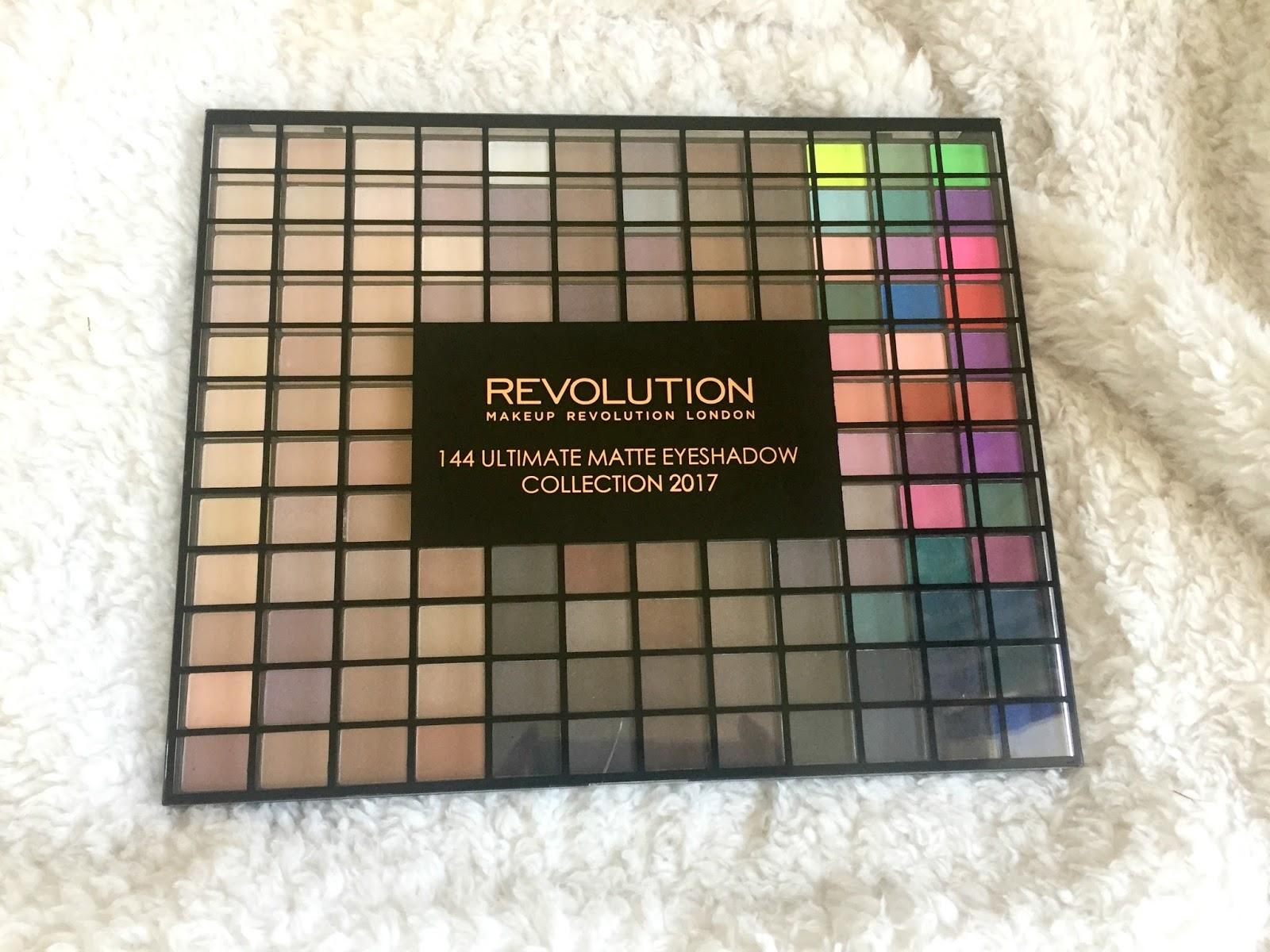 makeup revolution 144 ultimate matte eyeshadow palette. Black Bedroom Furniture Sets. Home Design Ideas